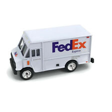 "FedEx Express Die Cast Metal Toy Step Van Delivery Truck Scale 3"" Length  New"