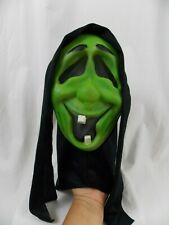 Laughing Green Scream Ghostface WITCH Mask RARE Frakenstein UCS Rubies Costume