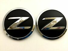 x2 Nissan 350Z / 370Z - Z Fender Emblem / Badge / Decal Replaces OEM 63890-CD10A