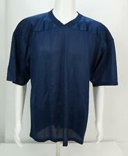 Vintage Majestic Men's Blank Jersey Navy Blue Xl Made in Usa