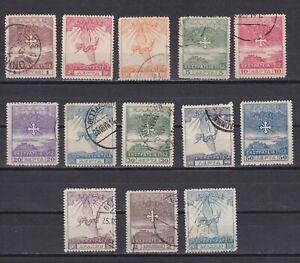 TURKEY GREECE 1912, Sc #N150A-N163, CV $82, part set, MH/Used