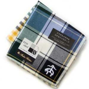 Brooks Brothers Handkerchief can wipe both smartphones and glasses 8253 Green