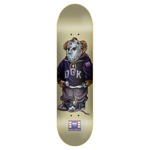 "DGK Skateboard Deck The Pug Cream 8"""