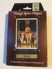 Vintage Sports Plaques Shaq
