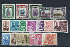 Mint Hinged George VI (1936-1952) North Bornean Stamps