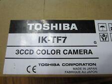 New Toshiba IK-TF7 3CCD Color Camera