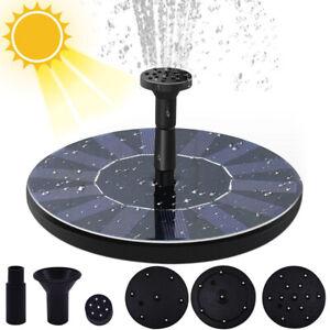 Ankway Free Standing Solar Bath Fountain Pump- 1.4w