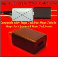 Fits Magic Jack Plus GO MagicJack Express Power Supply USB Adapter Wall Charger