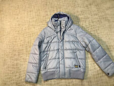G-STAR RAW WHISTLER HOODED BOMBER AVALANCHE SZ XL NWT