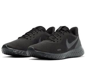 Nike Revolution 5 Laufschuh Running Schuh Jogging schwarz Gr. UK13 = 48,5