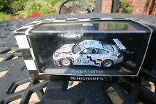 Minichamps 1/43 Scale PORSCHE 911 GT3 RS LE MANS 2001 #77 P/N 400 016977