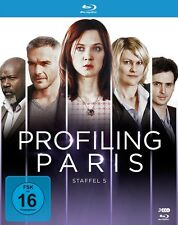 ODILE/BAS,PHILIPPE VUILLEMIN - PROFILING PARIS-STAFFEL 5  3 BLU-RAY NEU