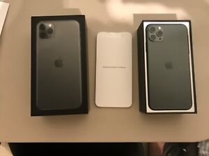 Apple iPhone 11 Pro Max - 64Go - Vert nuit (Désimlocké) A2218 (CDMA + GSM)
