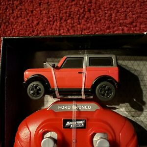 1:64 Ford Bronco Adventure Force RC Remote Control Nano Racer New Truck Lights