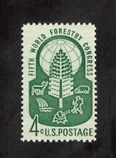 1156 World Forestry Congress Single Mint/nh Free Shipping