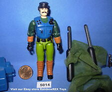 1992 MUTT & JUNKYARD K-9 Officer & Attack Dog GI Joe 3 3/4 inch Figure COMPLETE
