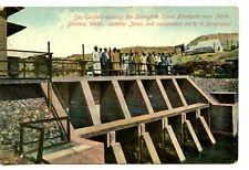 Officials Open Sunnyside Canal Headgate-North Yakima-Washington-Vintage Postcard