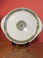 Royal Doulton Celtic Jewel TC1117 Cake Plate Round with Ears 10 1/4""