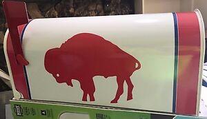 JUMBO Buffalo Bills Throw Back Custom Mailbox jersey hats