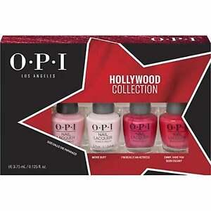 OPI Hollywood 2021 Spring Nail Polish Collection - Mini Set (4 X 3.75ML)