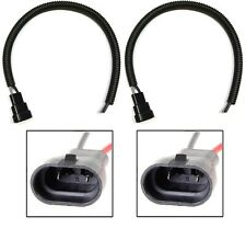 Wire Pigtail Male Extension H10 9145 Two Harness Fog Light Lamp Bulb Plug Socket