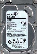 ST4000DM000 P/N: 1F2168-300 F/W: CC52 TK Z30 Seagate 4TB
