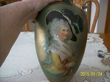 Lamp Porcelain Handpainted Georgiana Duchess of Devonshire Thomas Gainsborough
