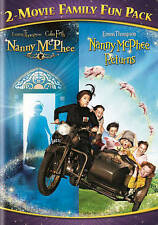 Nanny McPhee 2-Movie Family Fun Pack (DVD, 2014). New
