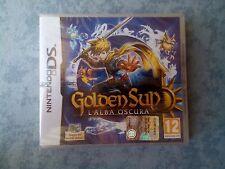 GOLDEN SUN L'ALBA OSCURA - NINTENDO DS DSi 3DS 2DS PAL ITALIANO NUOVO SIGILLATO