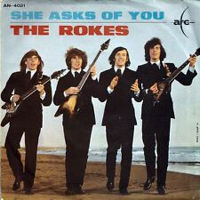 ROKES, The. Un Anima Pura / She Asks Of You. Pic Sleeve Italy 1964. 2nd Single.