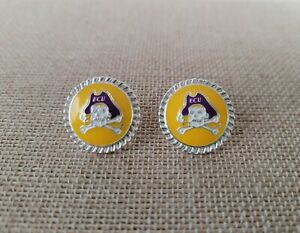 SANDOL Florida PIN Logo Earrings