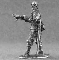 Toy Tin Soldier Knight Templar Shooter 1/32 scale Teutonic Order 54mm Metal