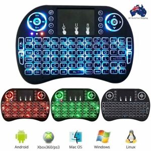 i8 Mini Wireless 2.4Ghz Keyboard Backlit Fr Raspberry Pi for PC Android