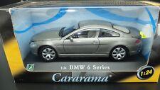 MODÈLE AUTO BMW SÉRIE 6 1:24 VOITURE MODEL MINIATURES MOULÉ SOUS PRESSION NEUF