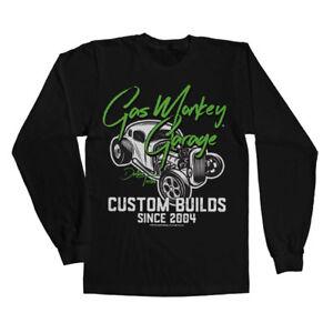 Officially Licensed Gas Monkey Garage Custom Neon Long Sleeve T-Shirt S-XXL