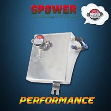 Aluminum Coolant Overflow Tank Reservoir Kit For 240SX S13 SR20DET KA24DE KA24E