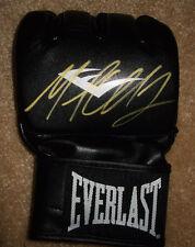 Michael Chandler Signed Everlast MMA Glove Exact PROOF Bellator Autograph Champ