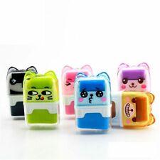 Cartoon Roller Eraser Kawaii Rubber Stationery Kids Gifts Correction Supplies