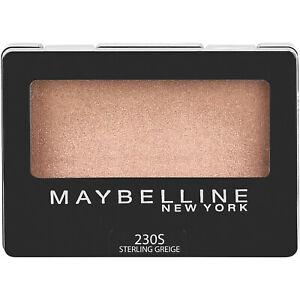 Maybelline Expert Wear Eyeshadow Makeup Sterling Greige 0.08 oz