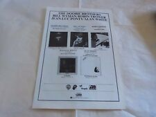 THE DOOBIE BROTHERS - BILL WYMAN - Publicité / Advert !!! VINTAGE 70'S