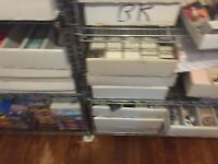 LOT OF 2500+ BASKETBALL CARDS! BIG ESTATE COLLECTION PACK BOX CASE - FREE SH