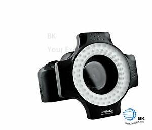 UWinka ULED-60 Marco LED Ring Light for Canon Nikon Sony Pentax Ring Size 67mm