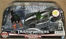 Transformers DOTM Flash Freeze Assault Sideswipe Icepick Chaos human alliance