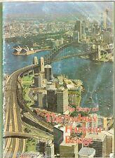 #T20. Booklet On The Sydney Harbour Bridge, About 1976