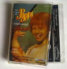 MC 810 707-4 KarussellL Astrid Lindgren Wir singen mit Pippi Langstrumpf