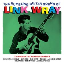 Link Wray RUMBLING GUITAR SOUND OF 38 Songs BEST OF COLLECTION New Sealed 2 CD