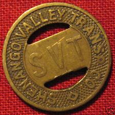 VINTAGE SHENANGO VALLEY SHARON PENNSYLVANIA TOKEN 1947