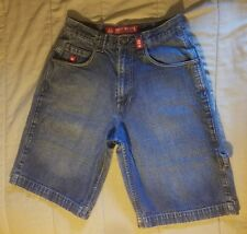 Men's Jnco Jeans Shorts Blue Denim Size 31 With hammer loop Snakes & 8 ball
