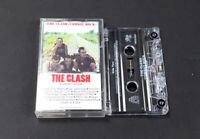 The Clash Combat Rock Audio Cassette Tape + Original Inlay Artwork & Case 1982