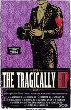 Tragically Hip 2004 Box office CONCERT POSTER